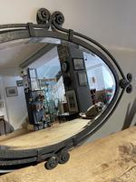 Art Deco Wrought Iron Mirror (3 of 5)