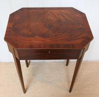 Regency Mahogany Work Table c.1820 (8 of 10)
