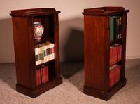 Pair of Open Bookcases 19th Century - William IV (3 of 10)