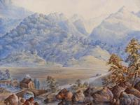 Watercolour The Glen Monogrammed A M 1863 (12 of 12)