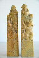 Pair of Chinese Soapstone Hand Seals (3 of 12)