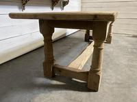 Large French Oak Rustic Farmhouse Dining Table (12 of 20)