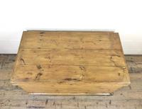Large Victorian Antique Pine Trunk (3 of 14)