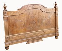 Victorian French Solid Elm Bed Frame (2 of 8)