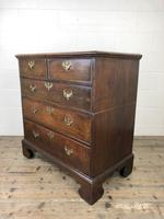 Antique Georgian Oak Chest of Drawers (6 of 10)