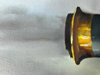 Oil Painting Railway Train Engine Princess Margaret 4056 Signed Ken Allsebrook (12 of 30)