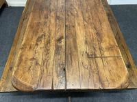 Rustic Oak Farmhouse Table & Bench Set (14 of 29)