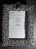 Silver Mounted Victorian Mirror (2 of 5)