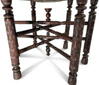 North African Folding Brass Tray Table (6 of 9)