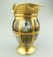 Extraordinary & Very Fine Old Paris Porcelain Gilt Jug Early 19th Century (6 of 12)