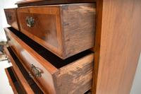 Antique Burr Walnut Chest of  Drawers (7 of 11)