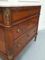 Beautifully Decorated French Commode c.1920 (3 of 6)