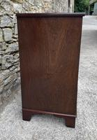 Small Antique Georgian Mahogany Chest of Drawers (6 of 16)