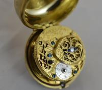 Issac Soret & Fils c.1750 Verge Pocket Watch (2 of 6)