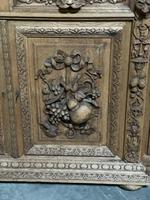 Magnificent French Carved Oak Hunting Sideboard (9 of 23)