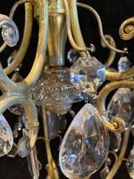 One Light Italian Open Lantern Antique Chandelier (5 of 12)