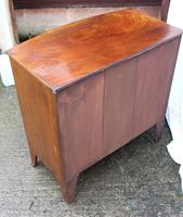 1900's Mahogany 4 Drawer Bow Chest Drawers just Polished (3 of 5)