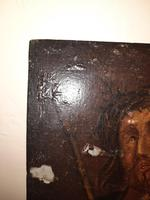 16th Century Northern European Oil on Board of Christ (4 of 11)