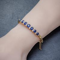 Antique Victorian Sapphire Diamond Bangle 18ct Gold 5.46ct Of Natural Sapphire With Cert (7 of 7)