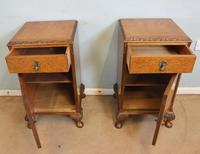 Pair of Burr Walnut Bedside Cabinets c.1930 (4 of 11)