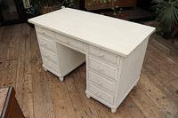 Fabulous! Old Pine / White Painted Desk / Dressing Table - We deliver! (3 of 11)