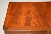 Antique Mahogany  Military Campaign Chest of Drawers (3 of 11)