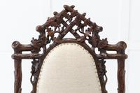 Pair of 19th Century Black Forest Open Armchairs (2 of 10)