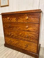 Victorian Satin Birch Chest of Drawers (4 of 4)