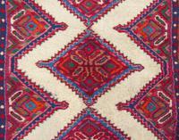 Neat Antique Sarab Runner Carpet (4 of 8)