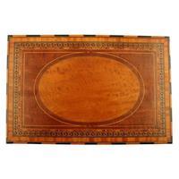 Mahogany & Satinwood Deed Box (8 of 8)