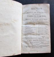 1800 Valuable Secrets in Arts & Trades  From The Best Artists Over 1000 Receipts (2 of 5)