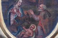 French School c1680 Nativity Oil on Canvas (9 of 9)