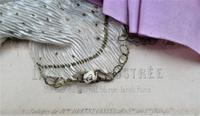 Antique Victorian 3-D fashion picture, textile and print, original frame, 1872 (10 of 10)