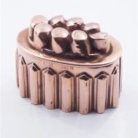 19th Century Copper Jelly Mould (3 of 5)
