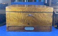 Victorian Walnut Stationary Box (10 of 15)