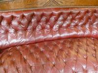 19th Century Aesthetic Leather Sofa (4 of 11)