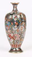 Oriental, Chinese / Japanese Exceptional Silver Metal Cloisonne Vase (15 of 25)