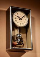 Art Deco Lepaute Very Interesting Electrical Wall Clock (7 of 14)