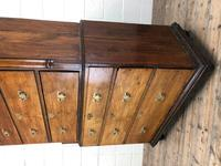 Early 19th Century Oak Secretaire Tallboy Chest on Chest (8 of 17)