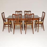 1960's Danish  Rosewood &  Leather Dining Chairs by Niels Kofoed (2 of 12)