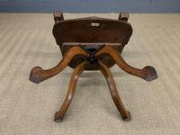 Victorian Revolving Desk Chair by Jas Shoolbred & Co (9 of 10)