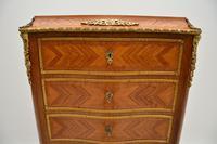 Antique French Inlaid Kingwood Secretaire Bureau Chest (11 of 11)