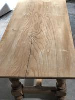 French large oak farmhouse dining table (3 of 38)