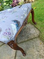 Large Louis XV Style Centre Stool c1880 (8 of 8)