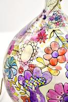 1960s Hand Painted Demi John Lamp with Floral Pattern (19 of 22)