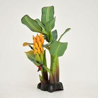 Vintage South Amercian Carved Wood Banana Tree Sculpture (5 of 10)