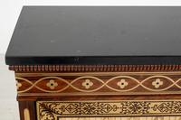 Amazing Rosewood and brass inlaid side cabinet (8 of 9)
