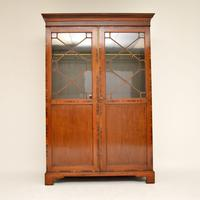 Antique  Inlaid Mahogany Wardrobe (2 of 12)