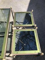 Quality Nest of 3 Brass Tables (7 of 8)
