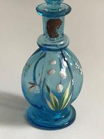 French Enamel Painted Cologne Bottle (2 of 5)